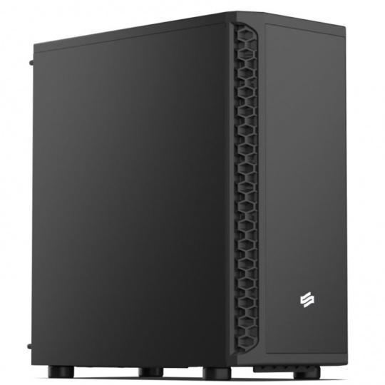 SilentiumPC skříň MidT Signum SG1M / 2x USB 3.0 / 1x 120mm fan / černá
