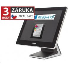 """Virtuos AerPOS PP-9635CV, 15"""", 4GB, 120GB SSD, Win 10 IoT, kapacitní - bezrámečkový"""