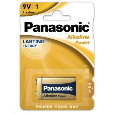 PANASONIC Alkalické baterie Alkaline Power 6LF22APB/1BP 9V (Blistr 1ks)