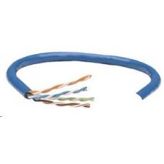 Intellinet UTP kábel, Cat5e, drôt 305m, 24AWG, modrý