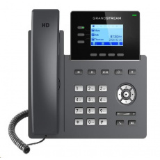 """Grandstream GRP2603P [VoIP telefon - 2.48"""" 132 x 64 grafický,  6x SIP účet, 2x RJ45 10/100/1000 Mbps, PoE]"""