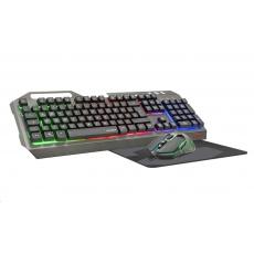 SPEED LINK set klávesnice + myš + podložka TYALO Illuminated Gaming Deskset, DE layout
