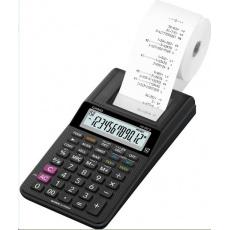 CASIO kalkulačka HR 8 RCE BK, Tiskový klakulátor