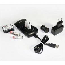 BRAUN nabíječka ONE-FOR-ALL Travel Mini (Li-Ion/AA/AAA,900mA,USB nab./auto/kabel)