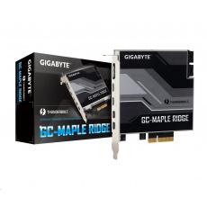GIGABYTE GC-MAPLE RIDGE, Intel® Thunderbolt™ 4 Certified add-in card, USB Type-C, DisplayPort