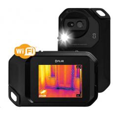 Termokamera FLIR C3 72003-0303, 80 x 60 pix, MSX®, Wi-Fi