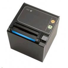 Seiko pokladničná tlačiareň RP-E10, rezačka, Horný výstup, serial, čierna
