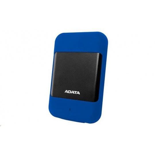 """ADATA Externí HDD 2TB 2,5"""" USB 3.1 DashDrive™ Durable HD700, modrá"""