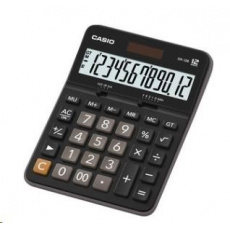 CASIO kalkulačka DX 12 B, černá, stolní, dvanáctimístná