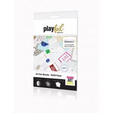 ControvARTsial Náhradní folie A4 pro PlayFoil – stříbrné (24 x A4)