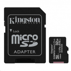 Raspberry Pi 32GB microSDHC Class 10 UHS-I U1 A1 s NOOBS & Raspberry Pi OS + SD adaptér