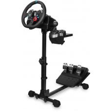 CONNECT IT držák na herní volant TitanFrame, řadící páku a pedály, černá