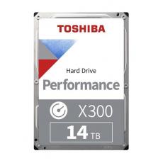 "TOSHIBA HDD X300 14TB, SATA III, 7200 rpm, 256MB cache, 3,5"", BULK"