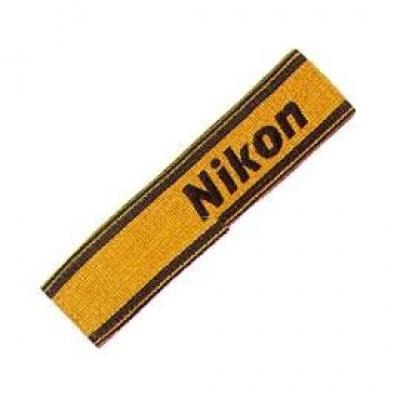 NIKON AN-6Y široký nylonový popruh žlutý