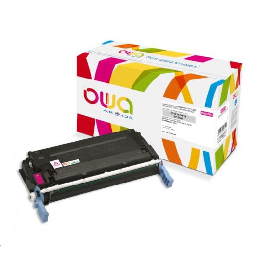 OWA Armor toner pro HP Color Laserjet 4600, 4610, 4650, 8000 Stran, C9723A, červená/magenta