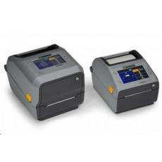 Zebra ZD621R, 8 dots/mm (203 dpi), disp., RTC, RFID, USB, USB Host, RS232, BT, Ethernet, Wi-Fi, grey