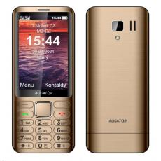 Aligator D950 Dual SIM, zlatá