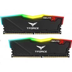 DIMM DDR4 32GB 2666MHz, CL15, (KIT 2x16GB), T-FORCE DELTA RGB (Black)