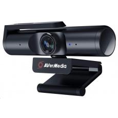 AVERMEDIA webkamera Live Streamer PW513, streamovací, 4K UHD, stereo mikrofon, USB 3.0, černá