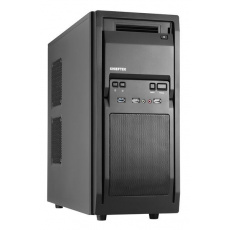 CHIEFTEC skříň Libra Series/Miditower, LF-02B-OP, Black, USB 3.0, bez zdroje
