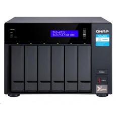 QNAP TVS-672X-i5-8G (6C/3,3GHz/8GBRAM/6xSATA/2xM.2/2xGbE/1x10GbE/1xUSB3.0/4xUSB3.1/2xPCIe/1xHDMI)