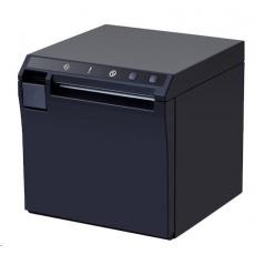 Birch QX3 Cube Pokladní tiskárna s řezačkou, konvertibilní, USB+LAN, černá, tisk v českém jazyce