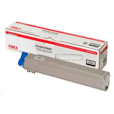 Oki Toner Černý do C9600/C9650/C9800/C9850/C9800MFP/C9850MFP (15k)