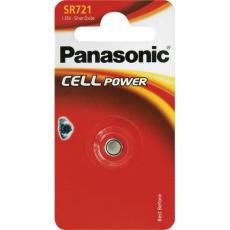 PANASONIC Stříbrooxidové - hodinkové baterie SR-721EL/1B 1,55V (Blistr 1ks)