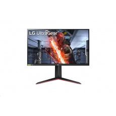 "LG MT IPS LCD LED 27""  27GN650 - IPS panel, 1ms, 144Hz, 1920x1080, 2xHDMI, DP, pivot"
