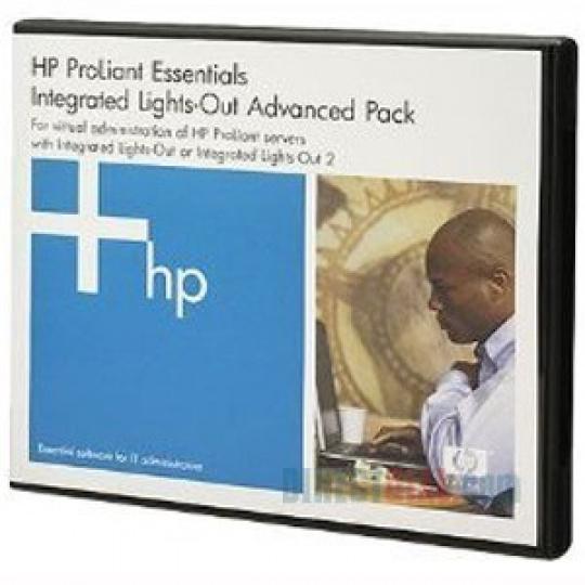 HP SW iLO Advanced Pack, No Media, Flexible-Quantity Lic. 1y 24x7 Techn. Supp&Updates