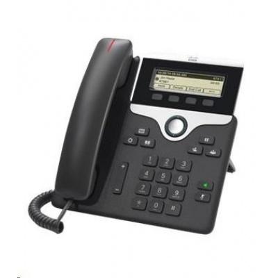 Cisco CP-7811-3PCC-K9=, VoIP telefon, 1line, 2x10/100, displej, PoE