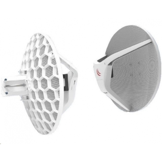 MikroTik Wireless Wire Dish (LHGG-60ad), 1Gbps full-duplex, 802.11ad, 60GHz,  již spárováno=bez nutnosti konfigurace