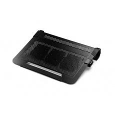 """Cooler Master chladící podstavec NotePal U3 PLUS ALU pro NTB 15-19"""" black, 3x8cm fan"""