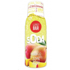 LIMO BAR - sirup Mango 0,5l