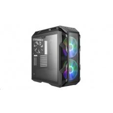 BAZAR Cooler Master case MasterCase H500M, E-ATX, 1x USB 3.1 Type-C, 4x USB3.0, kovová šedá - POŠKOZENÁ KRABICE