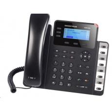 Grandstream GXP1630 [VoIP telefon - 3x SIP účet, HD audio, 3 prog.tl.+8 předvoleb, switch 2xLAN 1000Mbps, PoE]