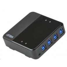 ATEN USB 3.1 Gen1 Přepínač periferií 4:4 US3344