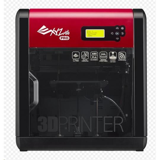 3D tiskárna XYZ da Vinci 1.0 Pro 3v1 (Single extruder, Scaner, gravírování, USB, Wifi / Open source, ABS, PLA)