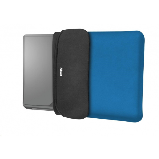 """TRUST myš + obal na notebook Yvo Reversible 15.6"""" Laptop Sleeve and Wireless Mouse - Blue"""