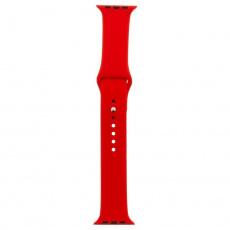 Tactical 464 Silikonový Řemínek pro Apple Watch 1/2/3/4/5/6/SE 38/40mm Red