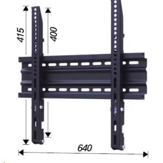 Pevný VESA držák na Tv OMB SLIM 600