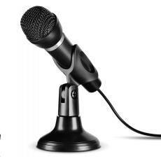 SPEED LINK mikrofon CAPO USB Desk & Hand Microphone, černá