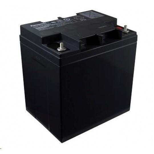 Baterie - Panasonic LC-P1224APG (12V/24Ah - M5, životnost 10-12let)