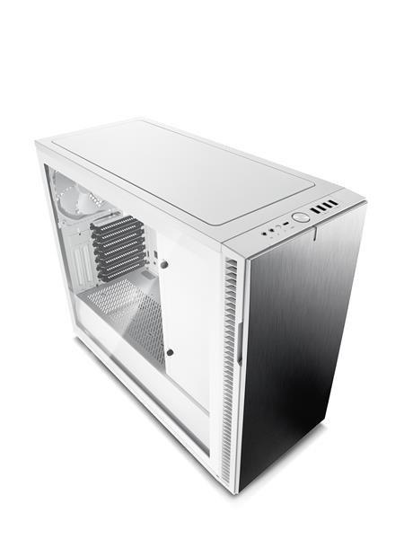 73c87bc02 Pridať do obľúbených · FRACTAL DESIGN skříň DEFINE R6 USB-C Arctic White,  průhledný TG bok, bez
