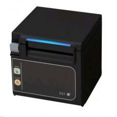 Seiko pokladničná tlačiareň RP-E11, rezačka, Predné výstup, serial, čierna