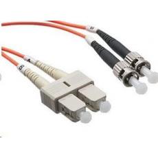 Duplexní patch kabel MM 62,5/125 OM1, SC-ST, LS0H, 1m