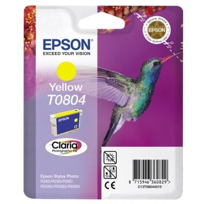 "EPSON ink bar CLARIA Stylus photo ""Kolibřík"" R265/ RX560/ R360 - yellow"