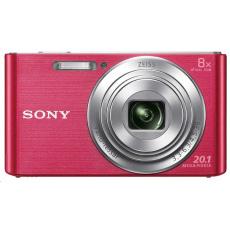 SONY DSCW830P Cyber-Shot 20.1MPix, 8x zoom - růžový