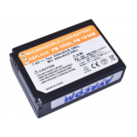 AVACOM Samsung BP-1030, BP-1130 Li-ion 7.4V 850mAh 6.3Wh