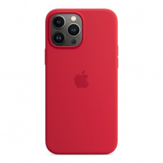 APPLE iPhone 13 Pro Max Silicone Case with MagSafe – (PRODUCT)RED